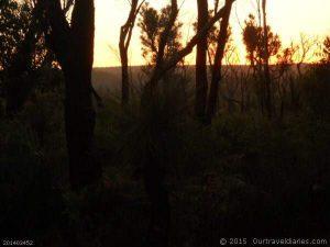 Sunrise at Lake Jasper, Western Australia