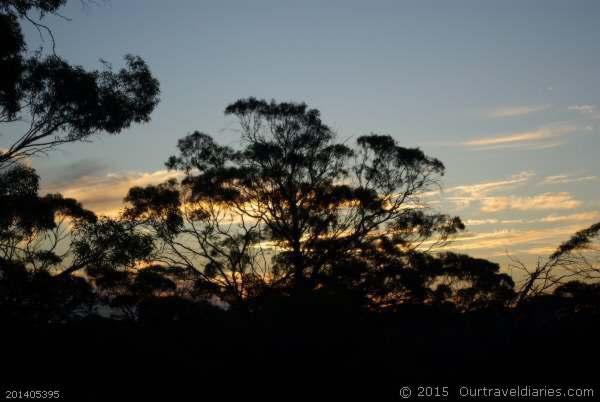 Sunset just north of Koolyanobbing