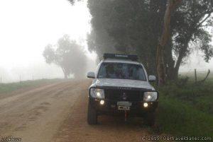 Foggy near the Helana River