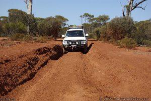 A dry bog hole, Holland Track