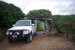 Quagi Beach campsite