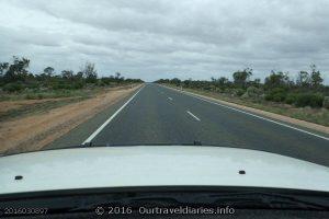 The road ahead, near Balladonia, WA