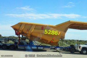Big Truck Tray layed up at Border Village SA