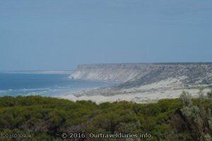 Looking west toward Wilson Bluff along the Great Australian Bight, South Australia