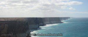 Bunda Cliffs along the Great Australian Bight, SA