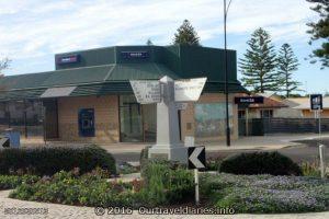 Sign post in the Main Street of Ceduna, SA