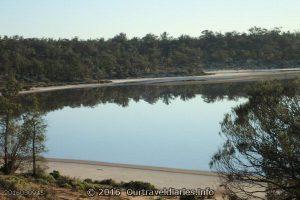 Reflection on Googs Lake, South Australia
