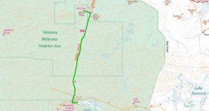 Day 5 - Googs Lake to Mount Finke (83 kms)