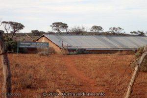 Waltumba Watertank, near Lake Gairdner, South Australia