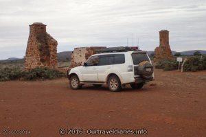 Ruins of the Old Pondanna Homestead, Near Lake Gairdner, South Australia