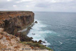 Bunda Cliffs of the Great Australian Bight near Wigunda Cave