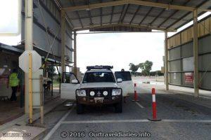 Nothing to Declare at the Quarantine Check Point at the WA/SA Border