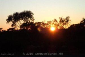Sunrise - north of Broadarrow