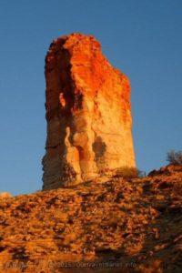 Ever changing color of Itirkawara (Chambers Pillar), Northern Territory