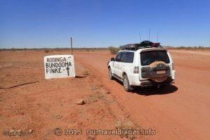 On the way to Rodinga, Bundooma, Finke