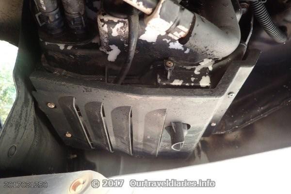 Pajero Rear Air Conditioner