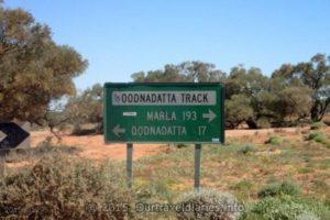 The Oodnadatta track, South Australia.