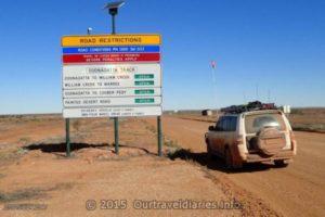 Along the the Oonadatta Track, South Australia