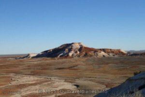 The colorful Painted Desert , East of Arckaringa Homestead, South Australia