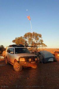 We camped overnight at Arckaringa Homestead, South Australia.
