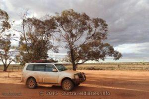 Campground at Kingoonya, South Australia