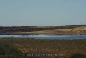 Unnamed salt lake, South Australia.