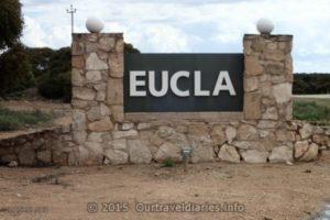 Weclome to Eucla, Western Australia