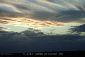 Clouds, Eyre Highway, Western Australia