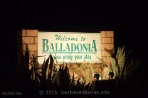 Balladonia WA at night.