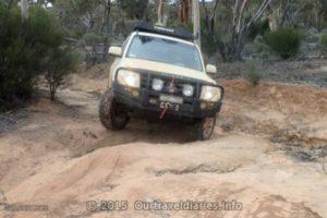 Track got a bit rough - Old Hyden Norseman Rd, Western Australia