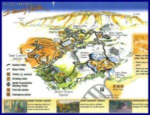 Alice Springs Desert Park Map