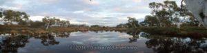 Sunset at Peter Creek, Pilbara, WA